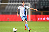 Francesco Acerbi of SS Lazio during the Serie A football match between Torino FC and SS Lazio at stadio Olimpico in Turin ( Italy ), June 30th, 2020. Play resumes behind closed doors following the outbreak of the coronavirus disease. <br /> Photo Image Sport / Insidefoto