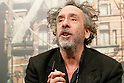 Tim Burton attends press conference for Miss Peregrine's Home for Peculiar Children in Tokyo