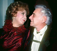 Beverly Sills and Leonard Bernstein 1982<br /> Photo By Adam Scull/PHOTOlink.net