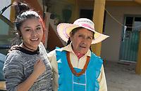 Breakfast with Grace Garcia and her family, Monte Alto, San Miguel La Labor, Estado de Mexico,  Mexico