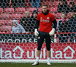 Simon Moore of Sheffield Utd during the Championship match at Bramall Lane Stadium, Sheffield. Picture date 26th December 2017. Picture credit should read: Simon Bellis/Sportimage