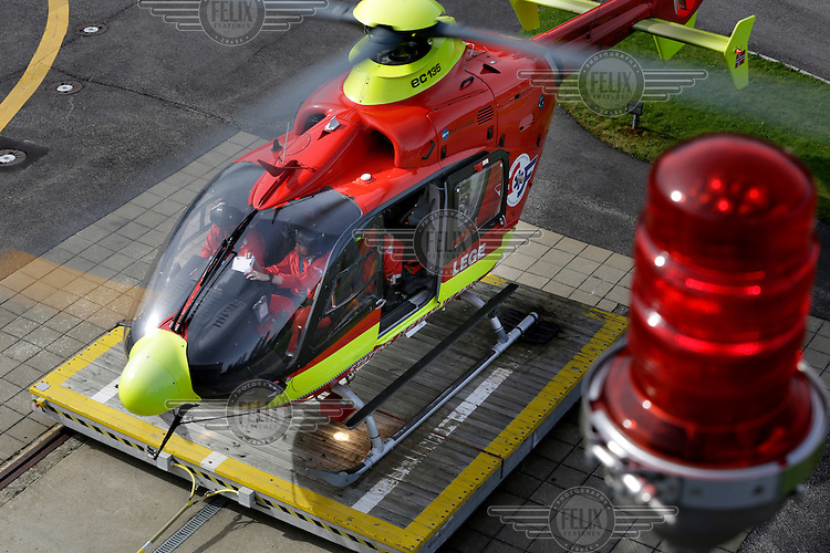 Norwegian Air Ambulance helicopter EC-135