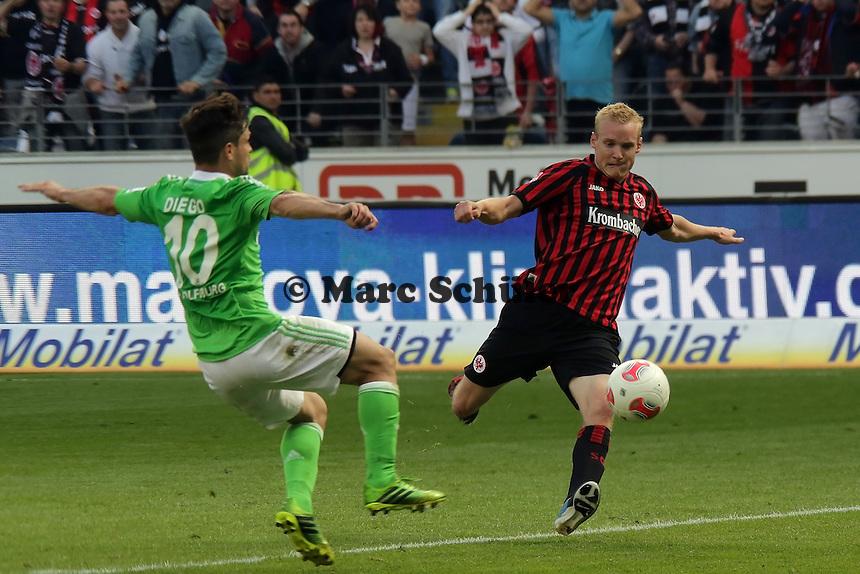 Sebastian Rode (Eintracht) gegen Diego (Wolfsburg)