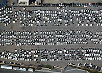 aerial photograph truck imports San Diego, California