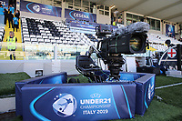 Camera UEFA Under 21 Championship Italy 2019<br /> Cesena 18-06-2019 Stadio Dino Manuzzi <br /> Football UEFA Under 21 Championship Italy 2019<br /> Group Stage - Final Tournament Group C<br /> England - France<br /> Photo Cesare Purini / Insidefoto