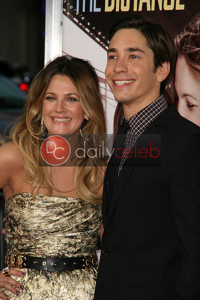 Drew Barrymore and Justin Long<br />