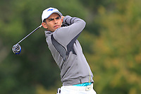 Aadil Bedi of Team India on the 6th tee during Round 3 of the WATC 2018 - Eisenhower Trophy at Carton House, Maynooth, Co. Kildare on Friday 7th September 2018.<br /> Picture:  Thos Caffrey / www.golffile.ie<br /> <br /> All photo usage must carry mandatory copyright credit (&copy; Golffile | Thos Caffrey)