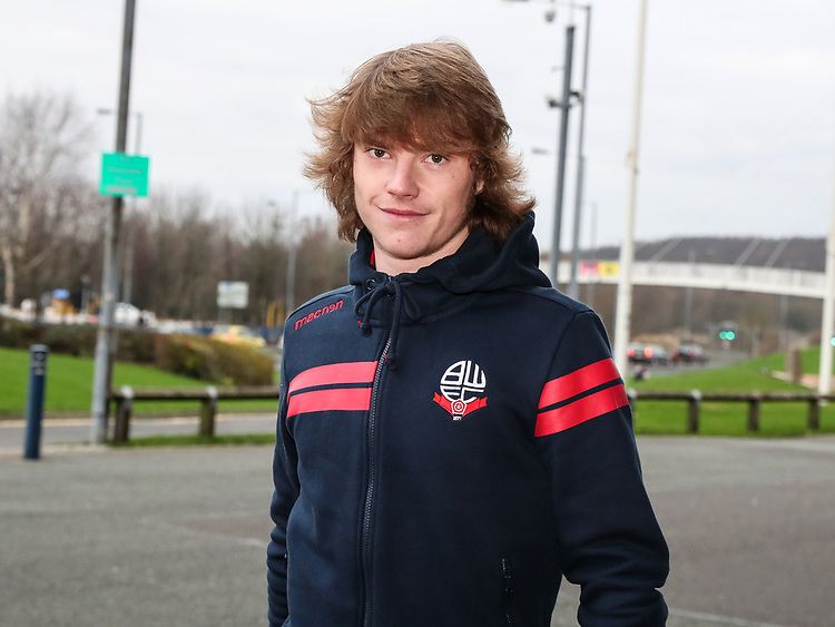 Bolton Wanderers' Luca Connell arriving at the stadium before today's match<br /> <br /> Photographer Andrew Kearns/CameraSport<br /> <br /> Emirates FA Cup Third Round - Bolton Wanderers v Walsall - Saturday 5th January 2019 - University of Bolton Stadium - Bolton<br />  <br /> World Copyright © 2019 CameraSport. All rights reserved. 43 Linden Ave. Countesthorpe. Leicester. England. LE8 5PG - Tel: +44 (0) 116 277 4147 - admin@camerasport.com - www.camerasport.com