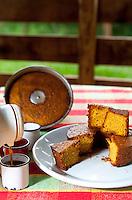 Brumadinho_MG, Brasil.<br /> <br /> Broa de milho servido no Restaurante Rancho do Peixe.<br /> Restaurante localizado no Distrito de Piedade do Paraopeba em Brumadinho, Minas Gerais.<br /> <br /> Broa de milho in Rancho do Peixe restaurant in Piedade do Paraopeba district in Brumadinho, Minas Gerais.<br /> <br /> Foto: RODRIGO LIMA / NITRO