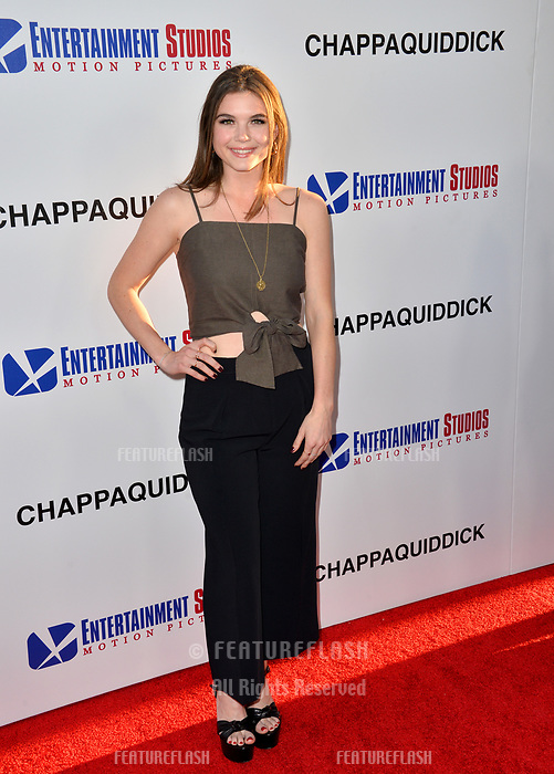 Tabitha Brownstone at the premiere for &quot;Chappaquiddick&quot; at the Samuel Goldwyn Theatre, Los Angeles, USA 28 March 2018<br /> Picture: Paul Smith/Featureflash/SilverHub 0208 004 5359 sales@silverhubmedia.com