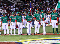 Fernando Salas (59 )Miguel Gonzalez (58), Jake Sanchez (55) Sergio Romo (54),   , Joakim Soria (48),  Luis Cruz (47) y Oliver Perez.<br /> <br /> Aspectos del partido Mexico vs Italia, durante Cl&aacute;sico Mundial de Beisbol en el Estadio de Charros de Jalisco.<br /> Guadalajara Jalisco a 9 Marzo 2017 <br /> Luis Gutierrez/NortePhoto.com