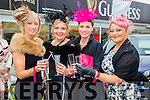 Enjoying  Ladies Day at the Listowel Harvest Racing Festival on Friday were L-r Joanne Foley, Kerry O'Sullivan, Annette O'Flaherty and Emma Joy from Glin and Listowel