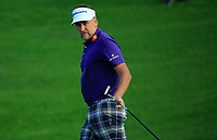 Ian Poulter (ENG) during the first round of The Northern Trust, Liberty National Golf Club, Jersey City, New Jersey, USA. 08/08/2019.<br /> Picture Michael Cohen / Golffile.ie<br /> <br /> All photo usage must carry mandatory copyright credit (© Golffile | Michael Cohen)