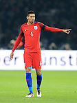 England's Chris Smalling in action during the International Friendly match at Olympiastadion.  Photo credit should read: David Klein/Sportimage