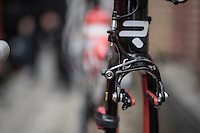 rim brakes on the Lotto-Soudal Ridley's<br /> <br /> GP Le Samyn 2017 (1.1)