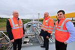 """MV """"Brisote"""" making it maiden voyage into the Flo Gas terminal in Drogheda Port.<br /> Picture: www.newsfile.ie"""