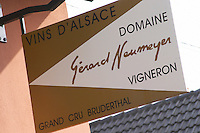 sign domaine gerard neumeyer alsace france