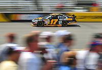 May 2, 2008; Richmond, VA, USA; NASCAR Sprint Cup Series driver Matt Kenseth during practice for the Dan Lowry 400 at the Richmond International Raceway. Mandatory Credit: Mark J. Rebilas-
