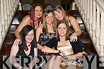 Emmetts Girls: Adding some glamour to the Listowel Emmetts Club Social in the Arms Hotel on Friday night were Peggy Browne, Una McMahon, Krystal Stack, Deirdre Nolan, Catherine Carmody (all from Listowel)..