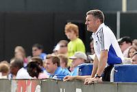 Peter Vermes...Kansas City Wizards were defeated 1-0 by Columbus Crew at Community America Ballpark, Kansas City, Kansas.