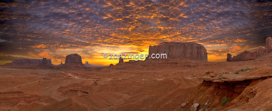 John Ford Point, Monument Valley, CGI Backgrounds, ,Beautiful Background