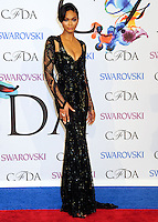 NEW YORK CITY, NY, USA - JUNE 02: Chanel Iman arrives at the 2014 CFDA Fashion Awards held at Alice Tully Hall, Lincoln Center on June 2, 2014 in New York City, New York, United States. (Photo by Celebrity Monitor)