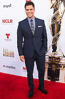 PASADENA, CA, USA - OCTOBER 10: Erik Valdez arrives at the 2014 NCLR ALMA Awards held at the Pasadena Civic Auditorium on October 10, 2014 in Pasadena, California, United States. (Photo by Celebrity Monitor)