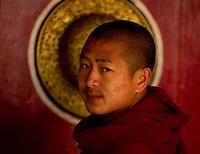 Buddhist monk in Sikkim India