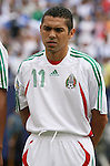 10 June 2007: Mexico's Ramon Morales. The Honduras Men's National Team defeated the National Team of Mexico 2-1 at Giants Stadium in East Rutherford, New Jersey in a first round game in the 2007 CONCACAF Gold Cup.