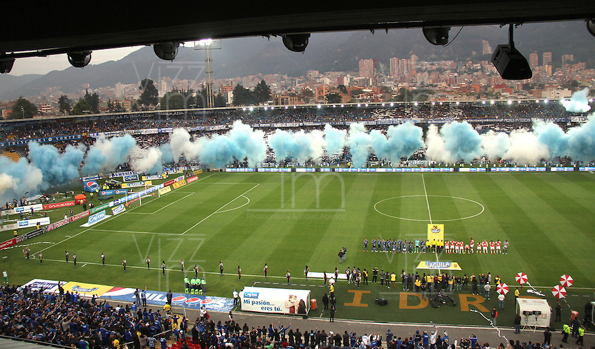 Millonarios vs Independiente Santa Fe , Liga Aguila 10 decima fecha ,  14-03-2015   VizzorImage