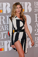 www.acepixs.com<br /> <br /> February 22 2017, London<br /> <br /> Abbey Clancy arriving at The BRIT Awards 2017 at The O2 Arena on February 22, 2017 in London, England.<br /> <br /> By Line: Famous/ACE Pictures<br /> <br /> <br /> ACE Pictures Inc<br /> Tel: 6467670430<br /> Email: info@acepixs.com<br /> www.acepixs.com