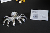 OrigamiUSA Convention 2015 Exhibition. OBC - Origami by Children - section. Lumo's Spider designed and folded by Lumo Sato, 11, CT.