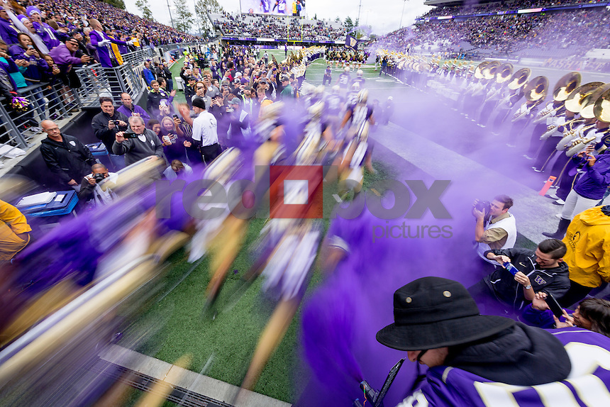 The University of Washington  football team plays defeats Portland State University at Husky Stadium on September 17, 2016. (Photography by Scott Eklund/Red Box Pictures)