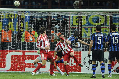 23 02 2011  Champions League Inter Bayern   Photo Giuseppe Celeste Image Sports Nella Photo Traversa Frank Ribery
