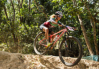 Picture by Alex Broadway/SWpix.com - 09/09/17 - Cycling - UCI 2017 Mountain Bike World Championships - XCO - Cairns, Australia - Jolanda Neff of Switzerland in action during the Women's Elite XCO Final.