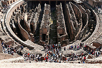 General View from the upper ring<br /> Roma 03/10/2017. Apertura del IV e V livello del Colosseo<br /> Rome October 3rd 2017. Opening of the IV and V levels of Colosseum.<br /> Foto Samantha Zucchi Insidefoto