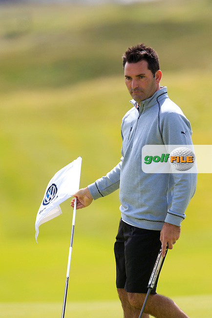 Gary O'Flaherty (Cork) during the last 16 of the South of Ireland from Lahinch golf club, Lahinch, Co. Clare, Ireland. <br /> Picture: Fran Caffrey / Golffile