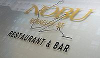 Views of Iconic London, Hotels, Fashion and Restaurants. October 8th 2018<br /> Pictured - Nobu Berkeley Street<br /> CAP/ROS<br /> &copy;ROS/Capital Pictures