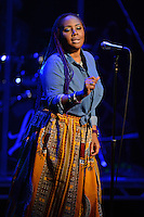 FORT LAUDERDALE, FL - OCTOBER 27: Lalah Hathaway performs at The Broward Center on October 27, 2016 in Fort Lauderdale, Florida. : Credit: mpi04/MediaPunch