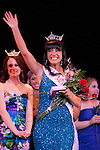 Ashton Sunseri waves to the crowd after being named Miss University of Nevada during the 2011 Miss Reno-Sparks Pageant held at Harrahs Reno on March 6th.  Photo by Tom Smedes.