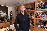 Mark Parker, CEO of Nike, photographed in his office at Nike headquarters in Beaverton, Oregon