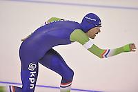 SPEEDSKATING: CALGARY: 15-11-2015, Olympic Oval, ISU World Cup, 1500m, Wouter olde Heuvel (NED), ©foto Martin de Jong