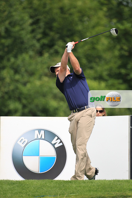 Alister Forsyth (SCO) on the 8th during round three of the BMW International Open, Golf Club Gut Lärchenhof,Cologne,Germany. 23/6/12.Picture Fran Caffrey www.golffile.ie