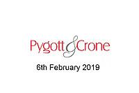 Pygott & Crone 6th February 2019
