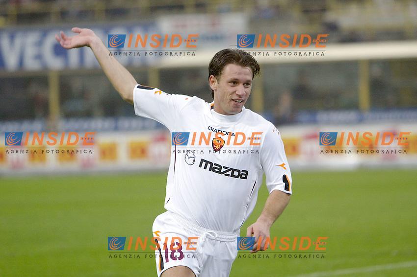 Bologna 23/11/2003 <br /> Bologna Roma 0-4 <br /> Antonio Cassano (Roma) festeggia il gol del 4-0<br /> Foto Andrea Staccioli Insidefoto