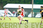Dr Crokes v Rathmore's defence during their County Championship clash in Rathmore Sunday evening