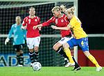 Solveig Guldbrandsen, Anna Paulson, QF, Sweden-Norway, Women's EURO 2009 in Finland, 09042009, Helsinki Football Stadium.
