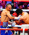 Manny PACQUIAO <br /> General Santos, PHI 61-7-2 (39 KOs) Weight: 146.5 lbs.  vs Keith THURMAN  Clearwater, FL 29-0 (22 KOs) Weight: 146.5 lbs.  Pacquiao wins 12 split decesion <br /> General Santos, PHI 61-7-2 (39 KOs) Weight: 146.5 lbs.  vs Keith THURMAN  Clearwater, FL 29-0 (22 KOs) Weight: 146.5 lbs.  Pacquiao wins 12 split decesion