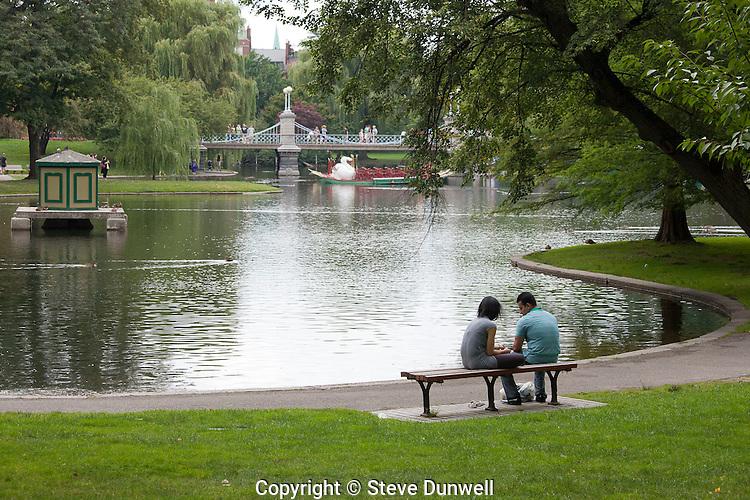 The Public Garden, Boston, MA