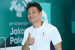 Tomoyuki Matsuda (JPN), <br /> AUGUST 21, 2018 - Shooting : <br /> Men's 10m Air Pistol Final<br /> at Jakabaring Sport Center Shooting Range <br /> during the 2018 Jakarta Palembang Asian Games <br /> in Palembang, Indonesia. <br /> (Photo by Yohei Osada/AFLO SPORT)